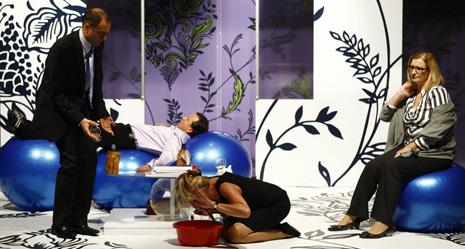 Gostujuća scena HNK u Splitu, Gradsko kazalište lutaka Split: Yasmina Reza, Bog masakra, red. Nenni Delmestre