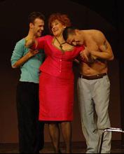 Istarsko narodno kazalište, Gradsko kazalište Pula, Dave Simpson, Djevojačka večer, redateljica: Violeta Tomić, foto: Branislav Danevski