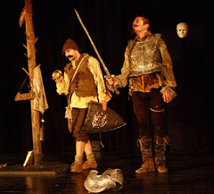 Kazalište Merlin, Zagreb: Miguel de Cervantes, Don Quijote, red. Ana Merlin