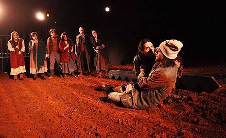 Istarsko narodno kazalište - Gradsko kazalište Pula: Elektra (po Euripidu), red. Damir Zlatar Frey, foto: Saša Miljević