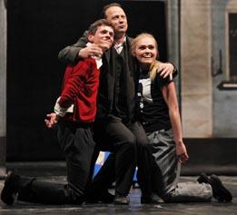 HNK Split, William Shakespeare, Hamlet, red. Aleksandar Ogarjov