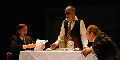 Gradsko kazalište Požega: Josef Hader i Alfred Dorfer, Indija, red. Marius Schiener