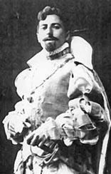 Josip Rijavec kao Vojvoda od Mantove u operi Rigoletto Giuseppea Verdija u Hrvatskom narodnom kazalištu u Zagrebu