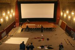 nekadašnje Kino Pobjeda u Zadru tijekom preuređenja, foto: www.057info.hr, Irena Jurjević