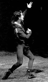 Stane Leben i Melita Skorupski u baletu Romeo i Julija Sergeja Sergejeviča Prokofjeva. Hrvatsko narodno kazalište u Zagrebu, 1964.