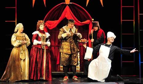 Gradsko kazalište Žar ptica, Zagreb: Ivica Boban (prema bajci Charlesa Peraulta), Mačak u čizmama, red. Ivica Boban