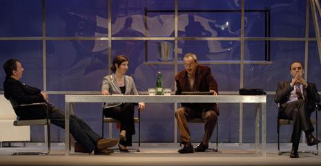HNK u Splitu (Gostujuća scena u Gradskom kazališta lutaka Split): Jordi Galcerán, Metoda, red. Želimir Mesarić