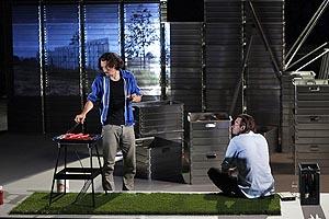 Festival d'Avignon, Falk Richter, Moj tajni vrt, red. Stanislas Nordey, Falk Richter