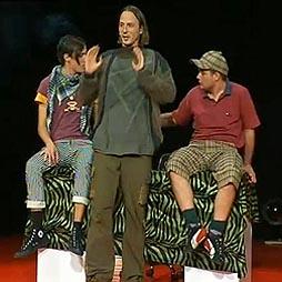 Noćna scena Hrvatskog narodnog kazališta u Osijeku: Tatjana Šuput, Multicro (Imamo svoje ljude), red. Robert Raponja