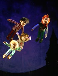 Zagrebačko kazalište lutaka: James Matthew Barrie, Petar Pan, red. Aida Bukvić, foto: Radomir Sarađen