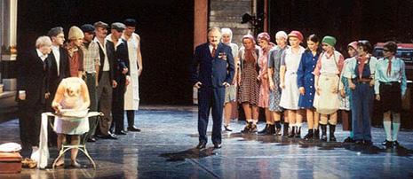 Gostovanje kazališta Vígszínház iz Budimpešta: Ples kroz vrijeme, red. László Marton
