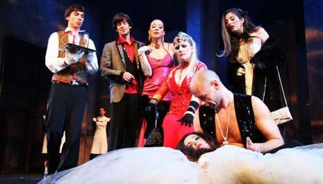 Istarsko narodno kazalište – Gradsko kazalište Pula, Oscar Wilde, Saloma, red. Damir Zlatar Frey, foto: Saša Miljević