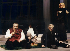 Mate Matišić: ANĐELI BABILONA, red. Božidar Violić, DK Gavella 1996.