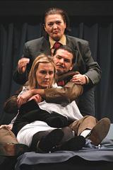 Samoubojica Nikolaja Robertoviča Erdmana, u režiji Eduarda Milera